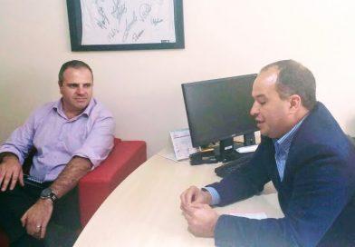 Representantes do Senac visitam CRTR para renovar parceria