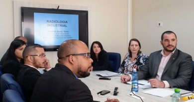 Fiscais do CRTR-SP fazem curso de Radiologia Industrial