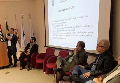 Presidente do CRTR5 palestra sobre atribuições do Conselho no Senac Tiradentes