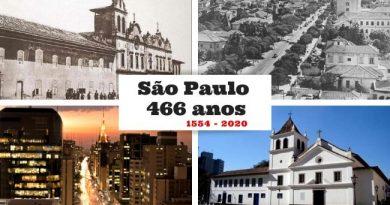 Homenagem aos 466 anos de São Paulo