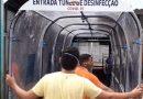 Uso de cabines para desinfecção de pessoas não são eficazes, alerta Anvisa