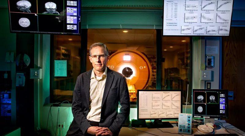 Ryan Larsen utilizou a Ressonância magnética para avaliar os níveis de metabólicos no cérebro infantil